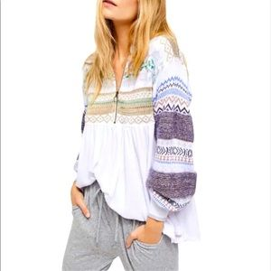 Free People | Cozy Cottage Sweater- White